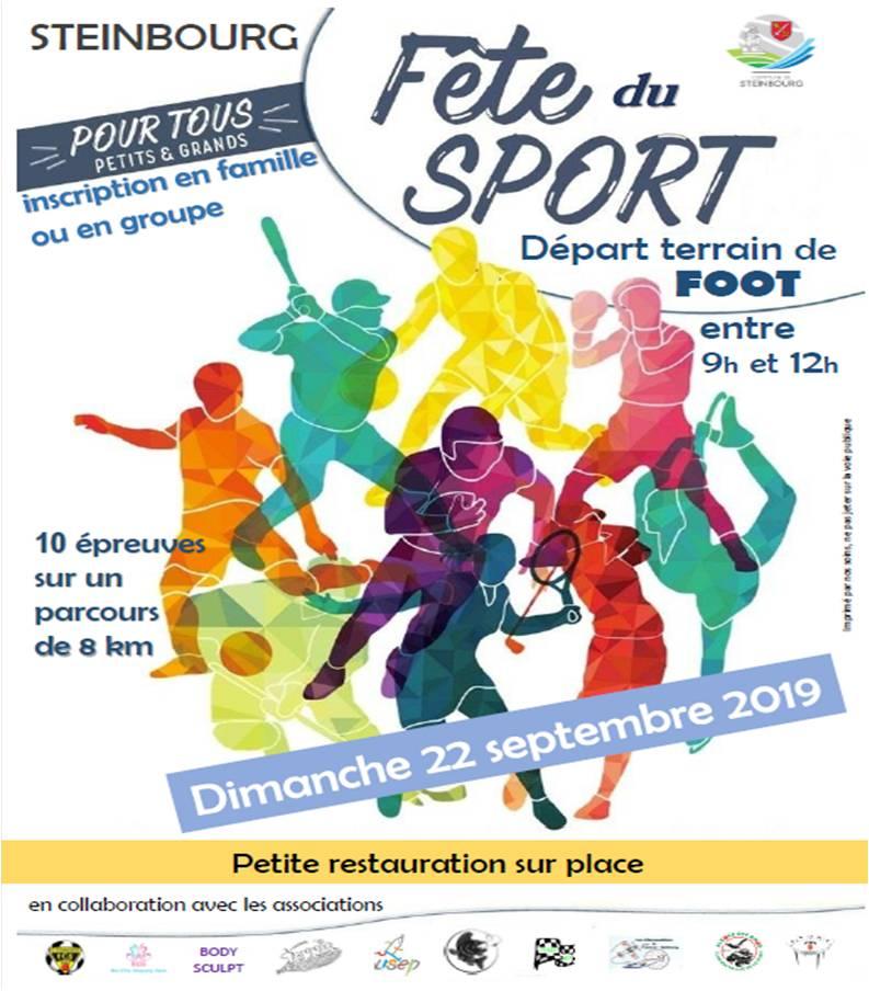 Affiche fête des sport club 4x4