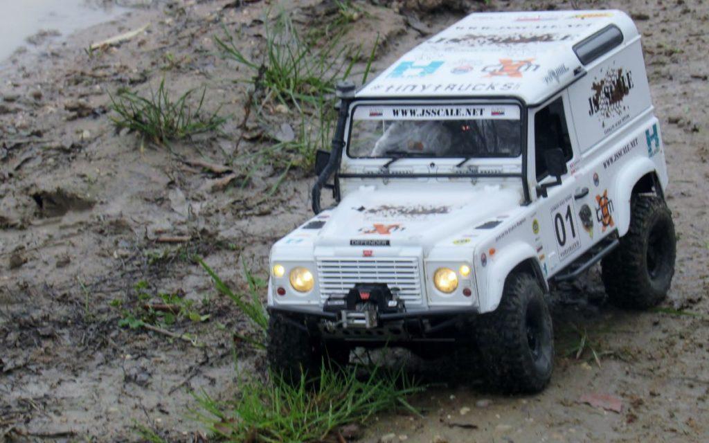 RC Scale-Crawler 4x4 blanc