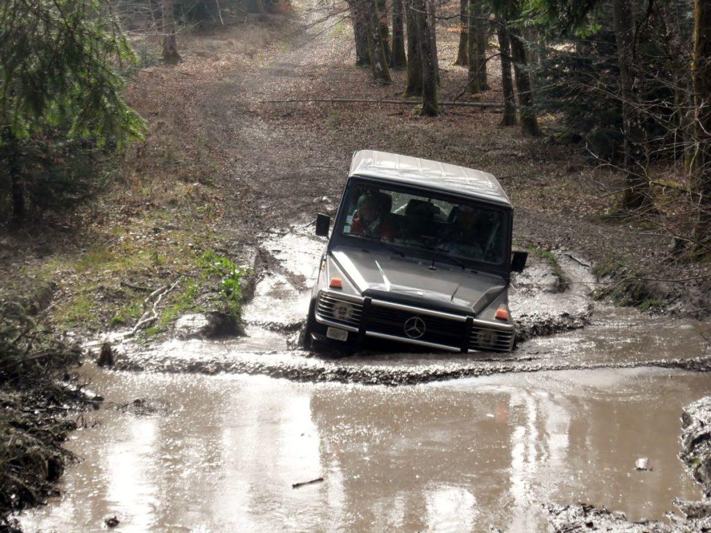 Randonnée 4x4 dans la boue