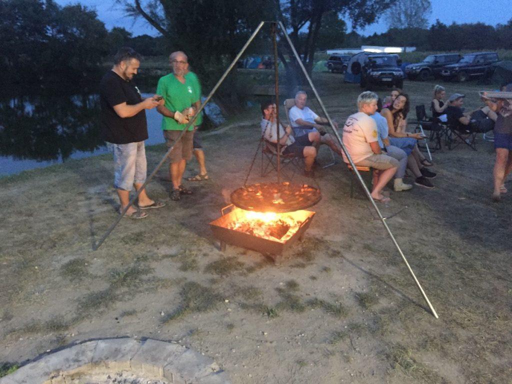 Activité de groupe barbecue club 4x4 Vallée de la Zorn